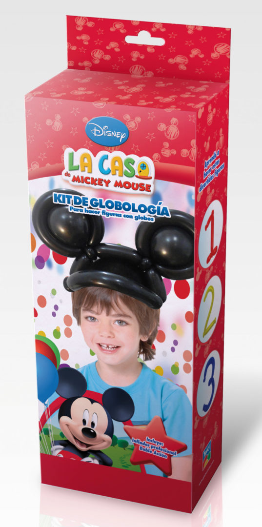KIT GLOBOLOGIA MICKEY