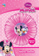 Adorno redondo para pared Minnie