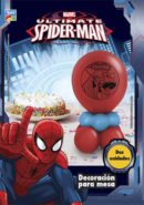 Kit Decoracion con Globos para Mesa SPIDERMAN