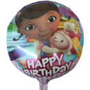 Doctora Juguetes Happy Birthday 18″